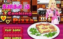 Играть онлайн Пицца для Барби бесплатно