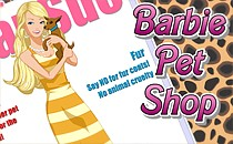 Играть онлайн Барби в зоомагазине бесплатно