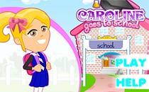 Играть онлайн Каролина идет в школу бесплатно