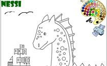 Играть онлайн Нэсси раскраска бесплатно