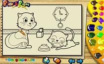 Играть онлайн Рисуй животных бесплатно