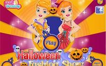 Играть онлайн Жуткий показ мод на Хэллоуин бесплатно