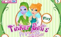 Играть онлайн Королевский макияж для Тинкербел бесплатно