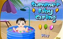 Играть онлайн Малыш на берегу моря бесплатно
