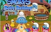 Играть онлайн Малыш Смурфик бесплатно