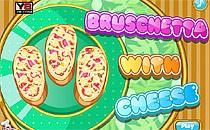 Играть онлайн Брускетта с сыром бесплатно