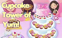 Играть онлайн Башня из кексов бесплатно