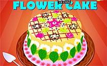 Играть онлайн Цветочный торт бесплатно