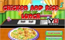 Играть онлайн Курица с рисом бесплатно