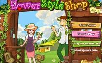 Играть онлайн Магазин Лучшие букеты бесплатно