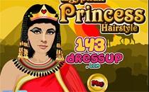 Играть онлайн Прическа для египетской принцессы бесплатно