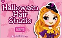 Играть онлайн Прическа на Хэллоуин бесплатно