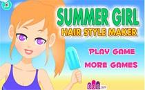 Играть онлайн Летний парикмахер бесплатно