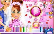 Играть онлайн Прическа для невесты бесплатно