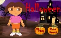 Играть онлайн Дора Хэллоуин бесплатно