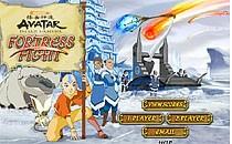 Играть онлайн Аватар защищает крепость бесплатно