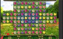 Играть онлайн Цветочный Пазл бесплатно