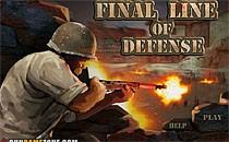 Играть онлайн Заключительная линия обороны бесплатно
