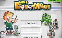 Играть онлайн Война мини-роботов бесплатно