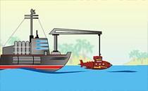 Играть онлайн Усовершенствуй подводную лодку бесплатно