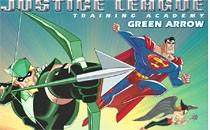 Играть онлайн Лига Справедливости - Зеленый Лучник бесплатно