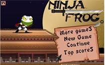 Играть онлайн Лягушка Ниндзя бесплатно