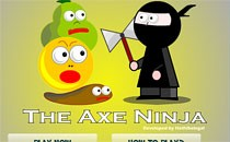 Играть онлайн Ниндзя Акс бесплатно