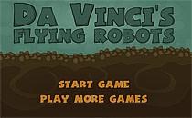 Играть онлайн Да Винчи делает летающих роботов бесплатно