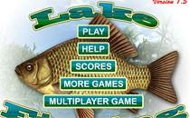 Играть онлайн Рыбалка на озере бесплатно