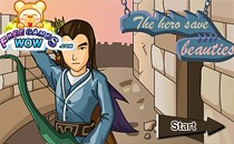 Играть онлайн Герой спасает Красоток бесплатно