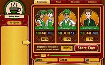 Играть онлайн Кофе менеджер бесплатно