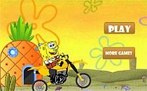 Играть онлайн Спанч Боб и велосипед бесплатно