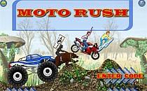 Играть онлайн Гонки мотоциклистов бесплатно