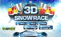Играть онлайн 3D гонки на снегу бесплатно
