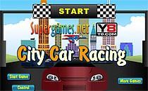 Играть онлайн Город - Автомобильные гонки бесплатно