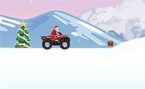 Играть онлайн Гонки за подарками на квадроцикле бесплатно