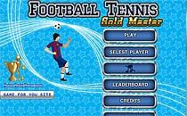 Играть онлайн Футбольный теннис бесплатно
