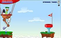 Играть онлайн Микки Маус и Дональд играют в гольф бесплатно