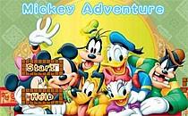 Играть онлайн Микки Маус собирает звёзды бесплатно