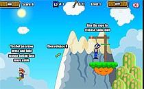Играть онлайн Марио спасает Соника бесплатно
