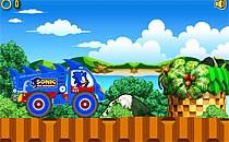 Играть онлайн Соник на супергрузовике бесплатно