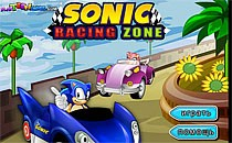 Играть онлайн Соник Гонки на машинах бесплатно