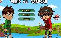 Играть онлайн Бен против Бакуган бесплатно