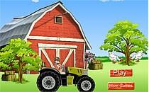 Играть онлайн Дэн Бакуган на тракторе бесплатно