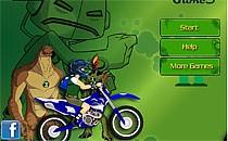 Играть онлайн Бен 10 и мотоцикл бесплатно