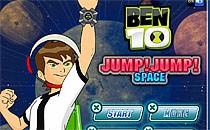 Играть онлайн Бен 10 прыгает в космосе бесплатно