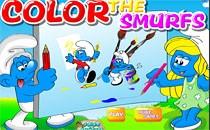 Играть онлайн Цвет Смурфиков бесплатно