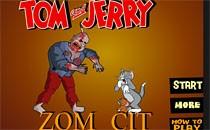 Играть онлайн Том и Джерри - город зомби бесплатно