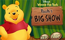 Играть онлайн Поиск предметов: Винни ищет мёд бесплатно