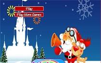 Играть онлайн Новогодний Маджонг бесплатно